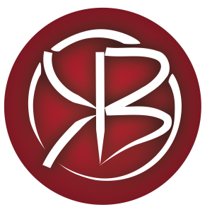 Kassius Benson Law Logo. Alternate Red