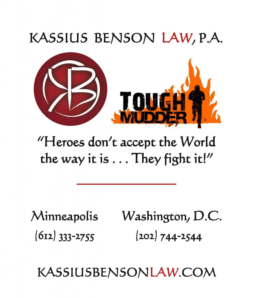 Kassius Benson Law  Tough Mudder Team